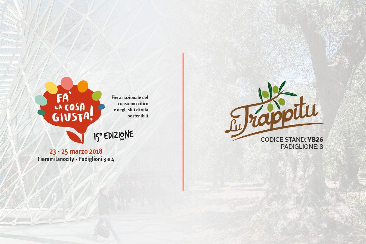 """Lu Trappitu a """"Fa' la cosa giusta!"""" 2018"""
